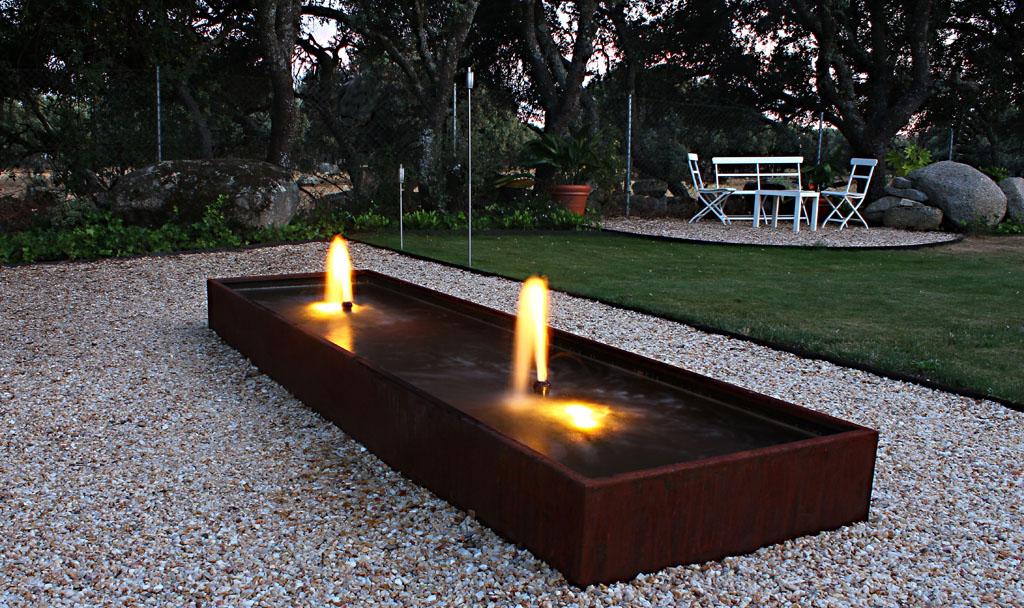 Jardines de agua y luz un jardin para mi - Iluminacion de jardines modernos ...