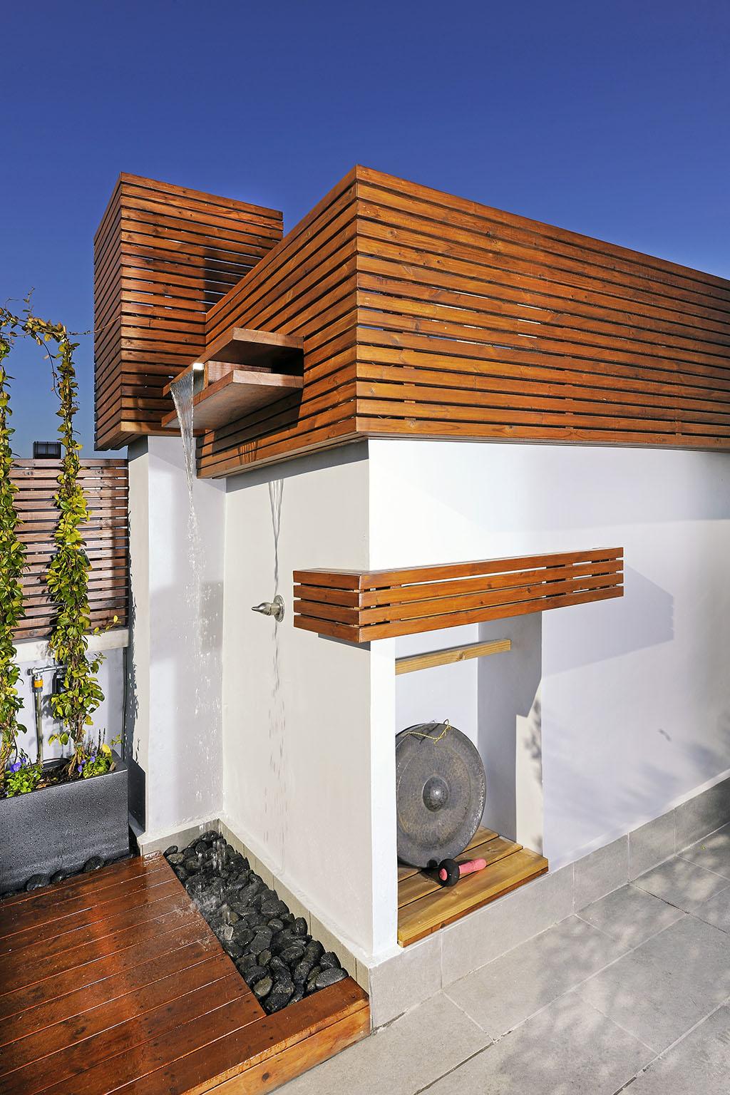 Atico en madrid un jardin para mi - Fuentes para terraza ...