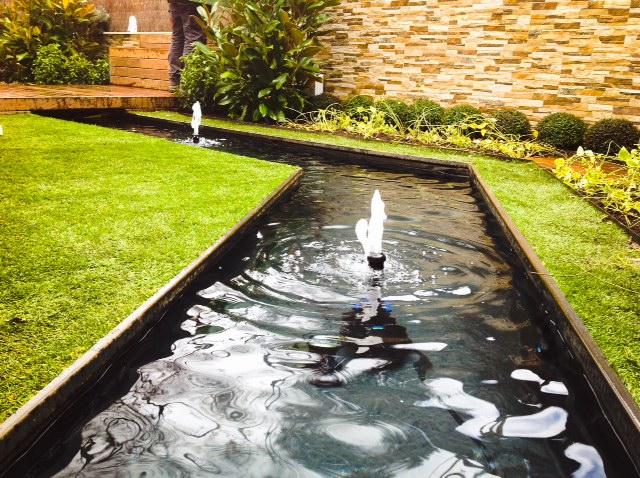 Paisajismo para piscinas resultado de imagen de piscina for Paisajismo jardines con piscina