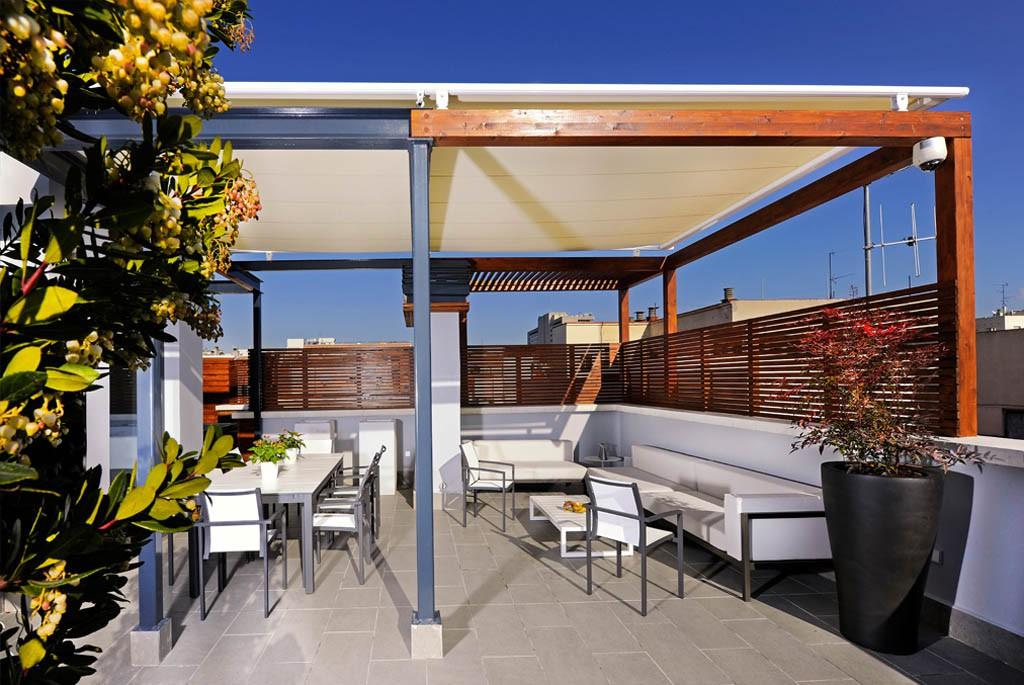 Decoraci n exterior decoraci n de jardines y exteriores - Decoracion en terrazas ...