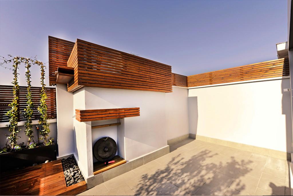 Dise o de terrazas y ticos decoraci n de terrazas - Trasteros de madera para jardin ...