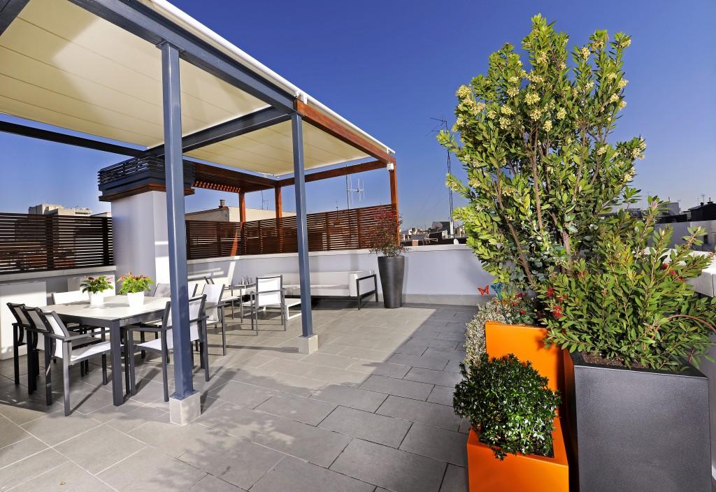 Dise o de terrazas y ticos decoraci n de terrazas unjardinparami un jardin para mi - Decorar terrazas aticos ...