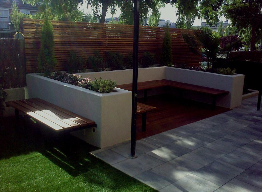 Paisajismo dise o de exteriores paisajismo exterior for Disenos jardines pequenos modernos