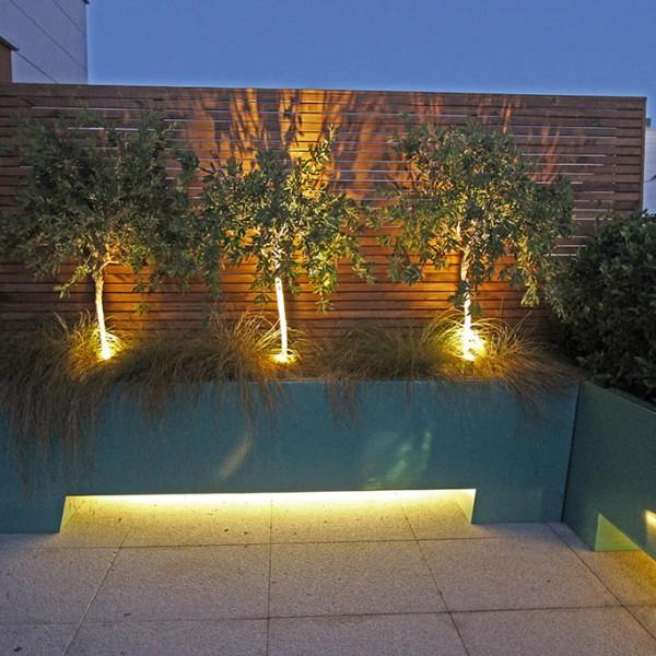 Iluminar terraza
