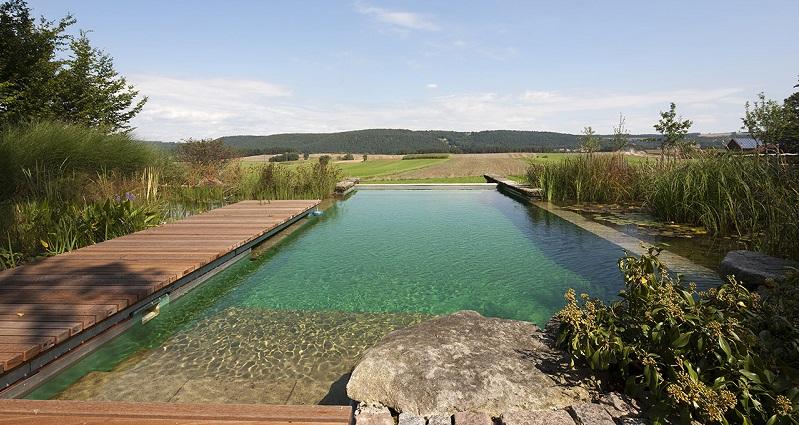 Ventajas de las piscinas naturales un jardin para mi for Piscina filtro natural
