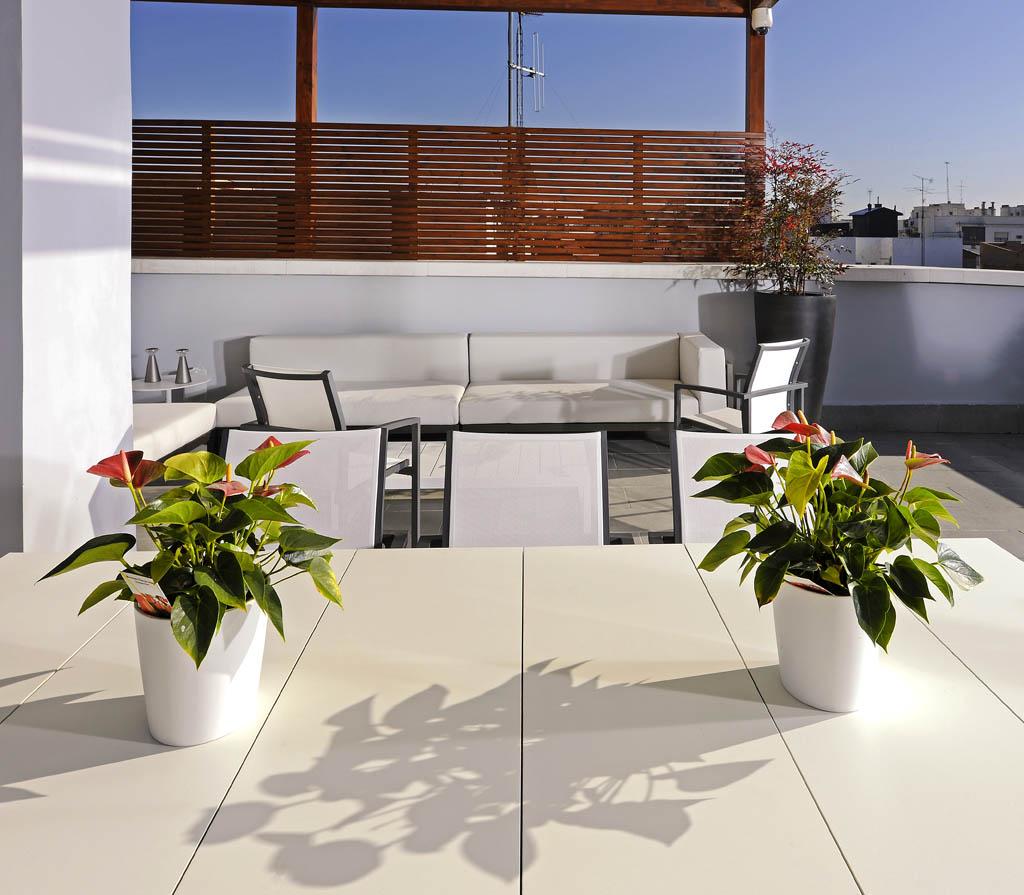 Terraza de dise o el arte en los peque os espacios un - Diseno de terraza ...