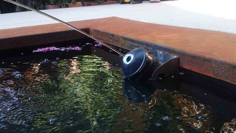 estanques y fuentes de jardn