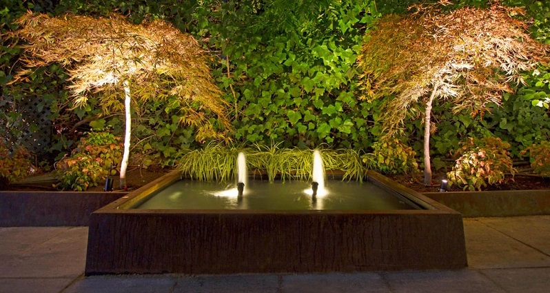 Estanques y fuentes de Jardín. Espacios de Agua