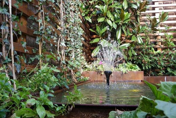 Unjardinparami dise o y decoraci n de jardines urbanos for Estanque jardin pequeno