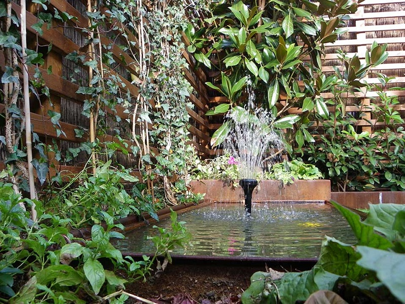 Top fuentes para jardin wallpapers for Cascadas de jardin