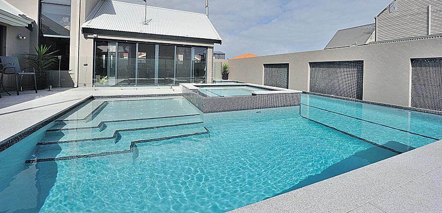 diseo piscinas de obra - Piscinas De Diseo