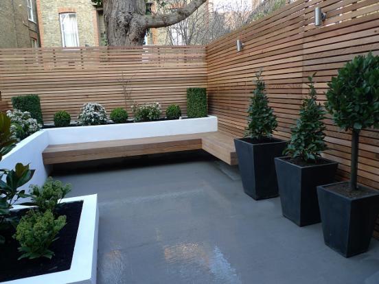 dieeño y decoraciones de jardines para invierno