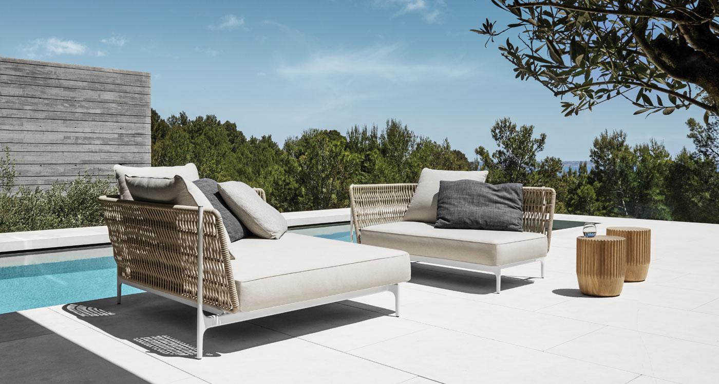 mobiliario de diseño para jardines Madrid | UNJARDINPARAMI