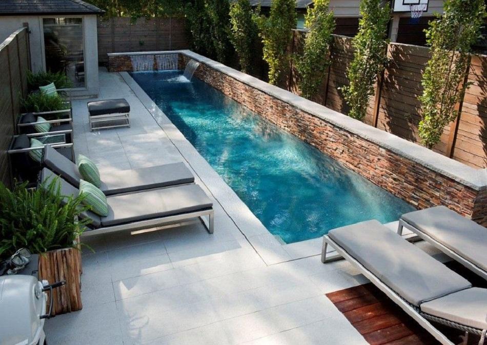 ¿Cómo debe ser una piscina para un Jardín Pequeño?