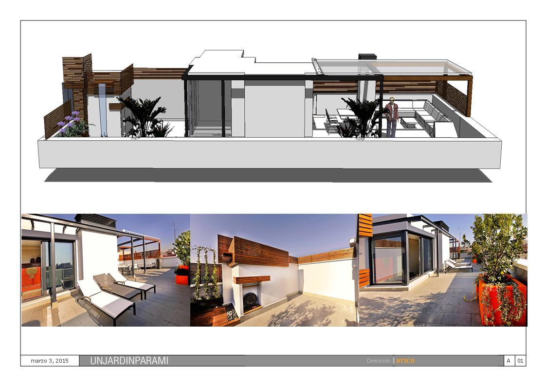 Diseño de Terrazas Madrid