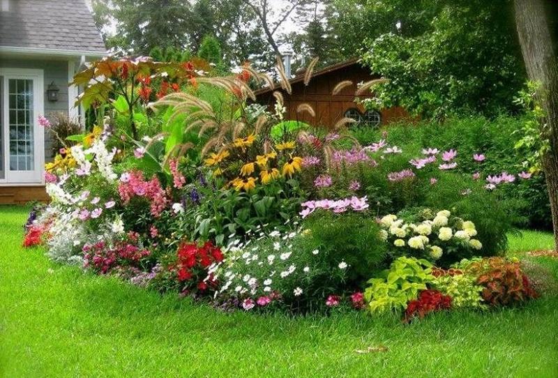 jardines con alma | Diseño jardines colores calidos