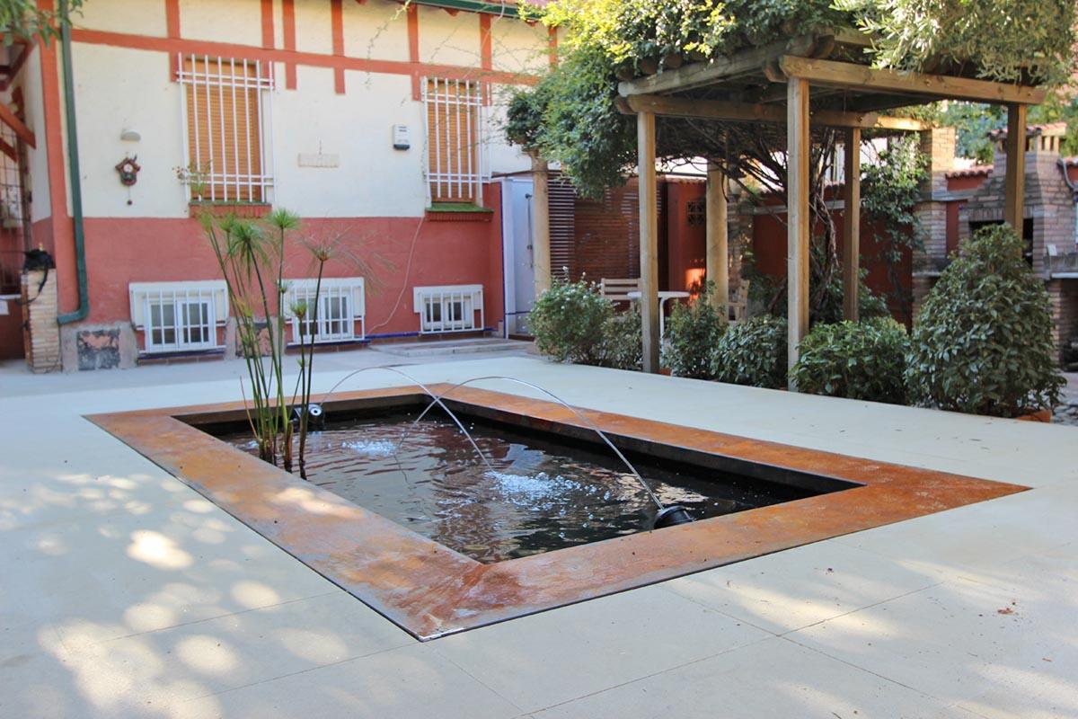 Diseño de jardines con estanque