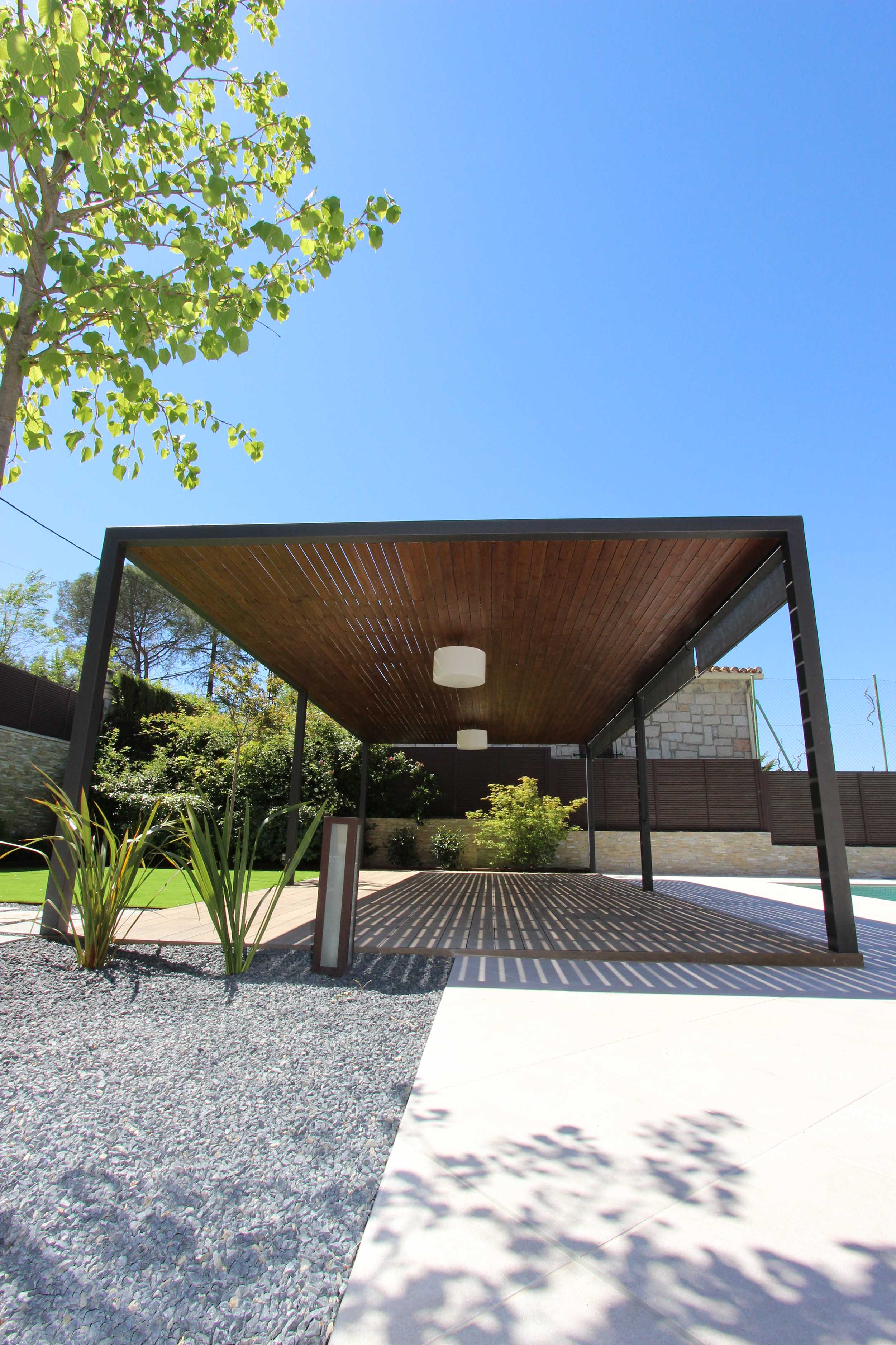 Pérgolas de diseño - Cenadores y Porches