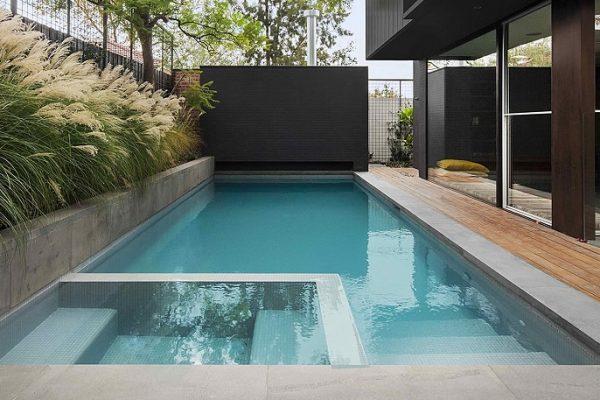 piscina para pequeño jardín - Unjardinparami