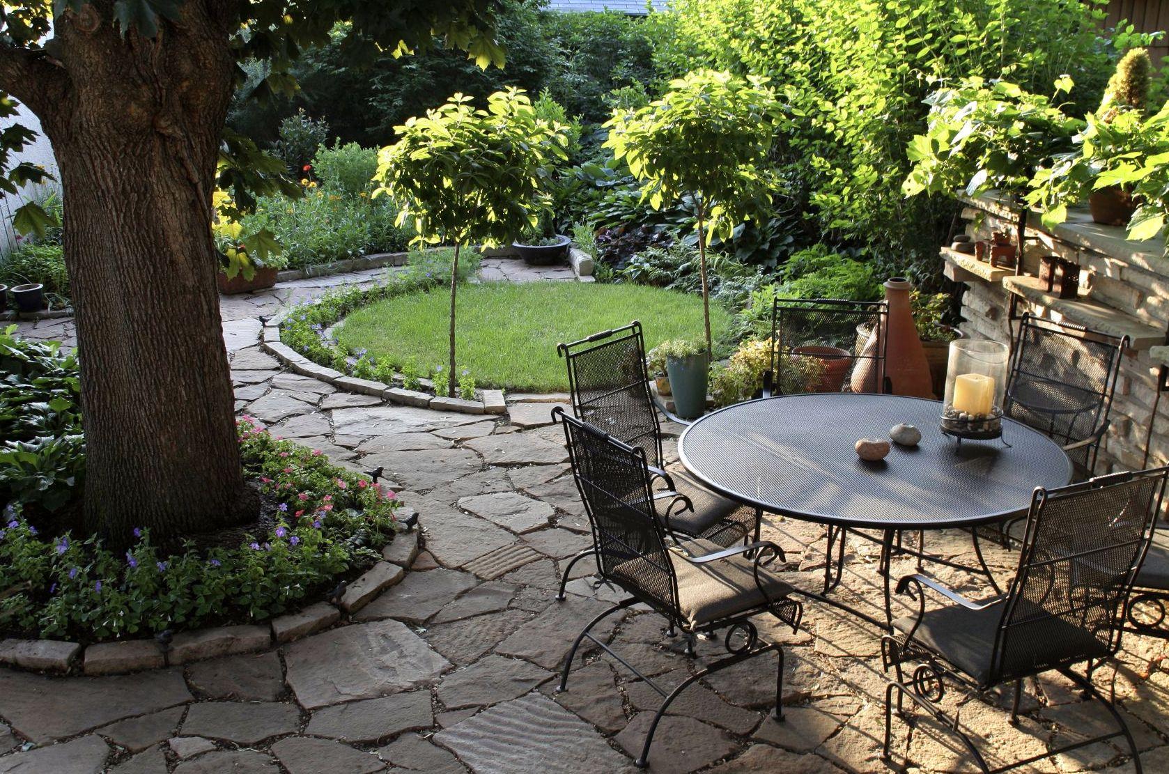 """Diseño de jardines rústicos. """"Porque lo rústico también puede ser funcional"""""""