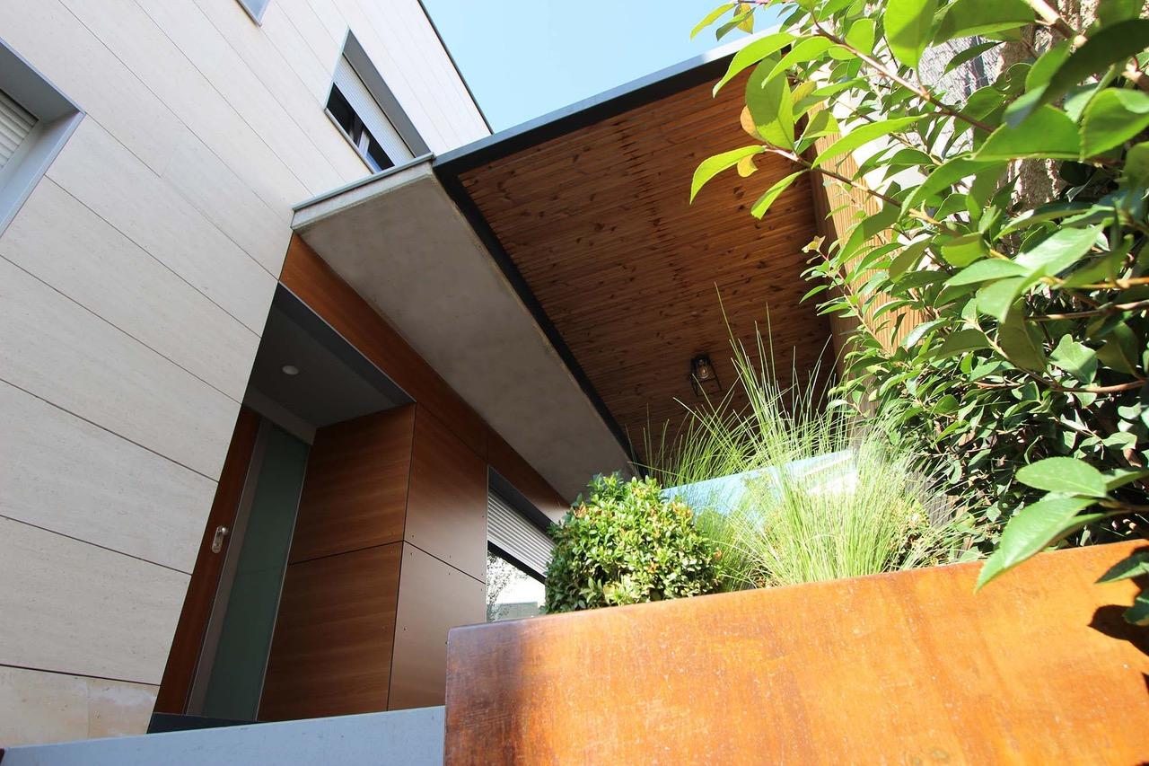 salón exterior y porche diseño de exteriores