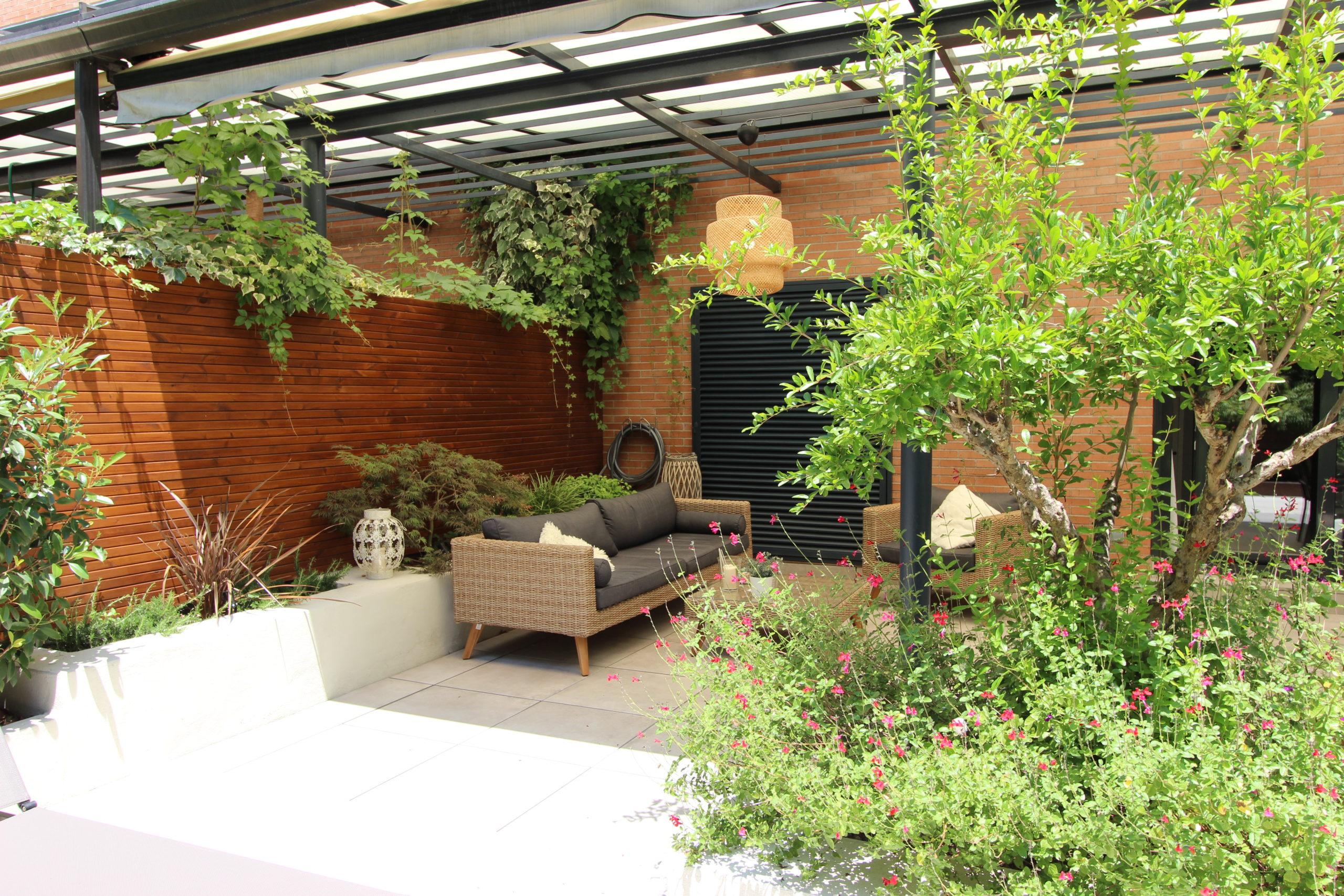jardines de verano